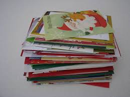 interesting ideas recycled christmas cards perfect design card