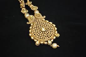 gold tone necklace set images Imitation jewellery antic gold tone necklace set jpg