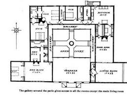 style home plans with courtyard hacienda house plans with courtyard homepeek