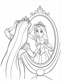rapunzel coloring pages 3 coloring kids
