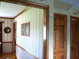 to paint or not paint stained wood trim