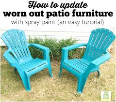 how to update old patio chairs an easy tutorial ask anna