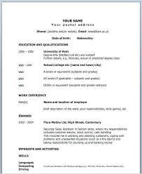 one page resume exles simple one page resume template resume sle