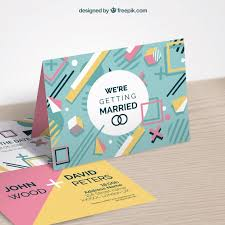 wedding invitations freepik wedding invitation in style vector free