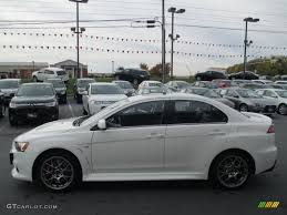 lancer mitsubishi 2014 wicked white 2014 mitsubishi lancer evolution mr exterior photo