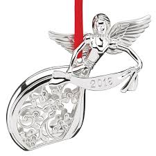 2016 silver ornament lenox ornaments