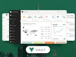 10 vue js admin dashboard templates for free download and premium