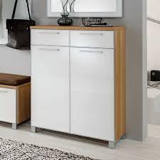 design schuhschrank design schuhschrank wynoca in weiß glas eiche bianco