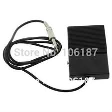 5pcs new black square tattoo foot pedal switch tattoo power supply