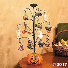 pumpkin tree with ornaments trading