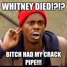 Smoking Crack Meme - whitney and bobby smoking crack memes