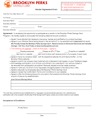 vendors contract agreements