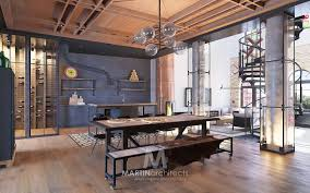 industrial lofts industrial style loft in kiev showcases impressive design