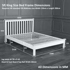 matress king size mattress width ana white fancy farmhouse diy