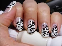 zebra pattern nail art 17 trendy animal print nails pretty designs