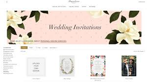 Post Wedding Invitations Paperless Email Wedding Invites Paperless Post Vs Greenvelope