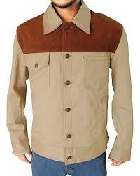 black and gold motorcycle jacket the walking dead jeffrey dean morgan negan jacket at amazon men u0027s