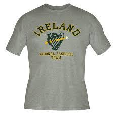 Color Of Irish Flag Amazon Com Ireland Flag Irish Baseball Team Ireland T Shirt