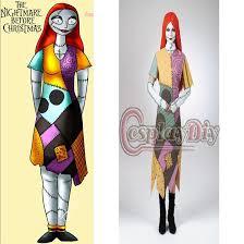 Halloween Costumes Sally Nightmare Christmas Arrival Custom Nightmare Christmas Sally