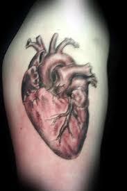 simple real heart tattoo design image tattooshunter com