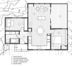 House Plans With Guest House by Modern Style House Plan 2 Beds 1 00 Baths 840 Sq Ft Plan 891 3