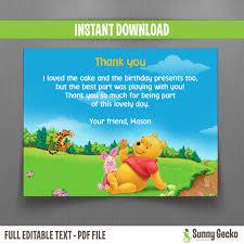 winnie pooh invitations winnie the pooh ticket invitations with free editable thank you