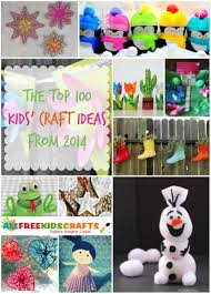 the top 100 kids u0027 craft ideas from 2014 allfreekidscrafts com