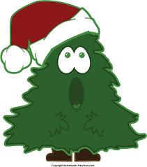 singing christmas tree clipart 76