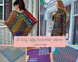 sweater ideas 21 diy sweater ideas allfreecrochet com