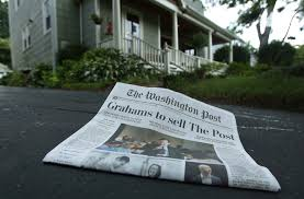 people who write papers for money the bad news about the news brookings institution sale of washington post