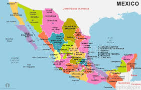 map central mexico political maps search maps central america