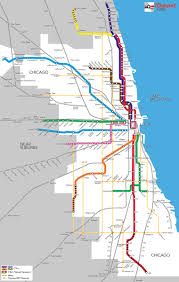 Cta Blue Line Map In Chicago A Massive Brt Plan Could Be The Best Bet For Inner