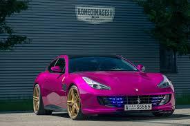lexus pink pink ferrari gtc4lusso goes against ferrari brand rule