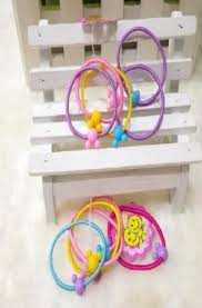 elastic hairband bands elastic hair tie children rubber hair band luvuy