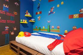 chambre mario bros mario wars tortues les chambres à thème font un