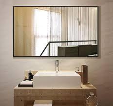 Bathroom Wall Mounted Mirrors Wall Mount Mirror Bathroom Vanity Mirrors For Wall 38 X 26