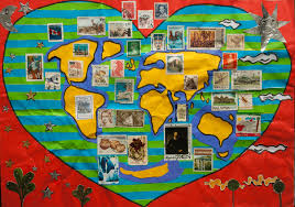 Children S Map Of The World by World In My Heart Under The Sun And Moon Children Map Their World