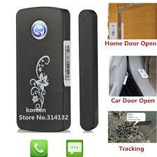 porta mini auto mini auto magnetico allarme porta aperta lbs gsm tracker con