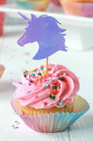 cupcake toppers unicorn cupcake toppers free unicorn cut file