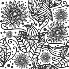 Decorative Flowers by Decorative Flower Wallpaper Vector Image 1571510 Stockunlimited