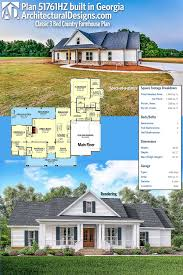house plans farmhouse country plan 51761hz classic 3 bed country farmhouse plan slab