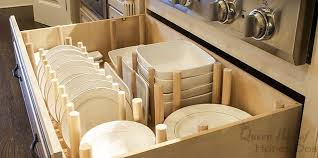 How To Dish Drawer Organizer Hometalk - Kitchen cabinet drawer dividers
