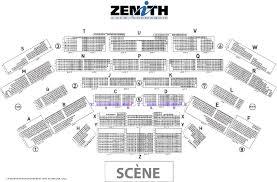 zenith plan salle visualiser sa place zenith de caen