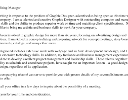 graphic designer cover letters best graphic designer cover letter exles livecareer graphic