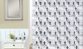 Fleur De Lis Shower Curtains Fleur De Lis Bathroom Set 18 Piece Groupon