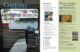 issue 149 table of contents maine boats homes u0026 harbors