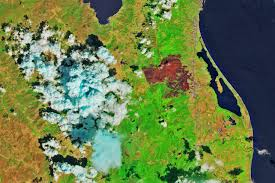 Corsica Map Fire Chars Northern Corsica Image Of The Day