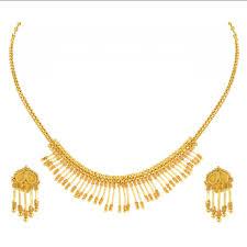 gold set orra gold set necklace gsn11528 at rs 65710 set sone ka har set