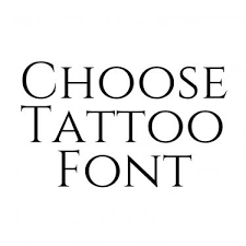 font generator for tattoos tattoo collections