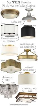 Bedroom Light Fixture Best Flush Mount Ceiling Lighting My 10 Faves From Inexpensive